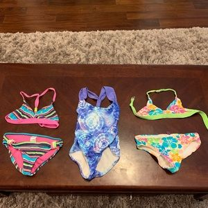 Other - Bathing Suit Lot- 3 bathing suits .Children Sz 4-5